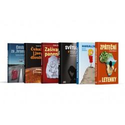 Balíček knih Danky Šárkové, které vydalo nakladatelství AMI Publishing